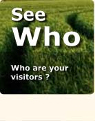 see who your visitors are